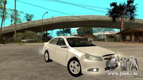 Chevrolet Epica 2008 pour GTA San Andreas vue arrière