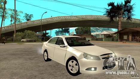 Chevrolet Epica 2008 für GTA San Andreas Rückansicht