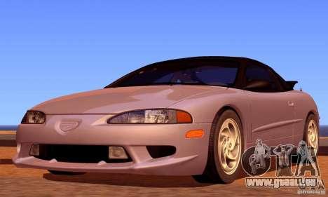 Eagle Talon TSi AWD 1998 für GTA San Andreas Unteransicht