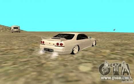Nissan Skyline R33 für GTA San Andreas rechten Ansicht