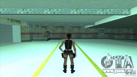 Lara Croft für GTA San Andreas zweiten Screenshot