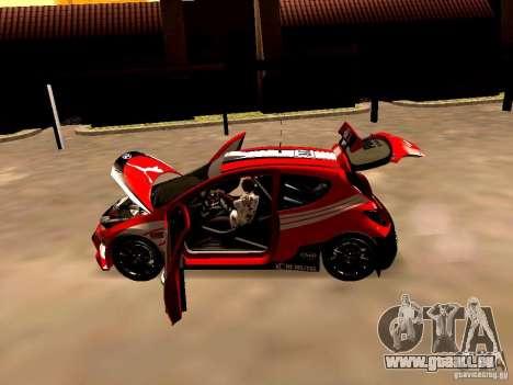 Peugeot 207 S2000 Puma pour GTA San Andreas vue arrière