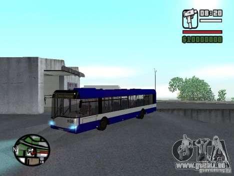 Solaris Urbino 12 pour GTA San Andreas laissé vue