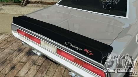 Dodge Challenger RT 1970 v2.0 pour le moteur de GTA 4
