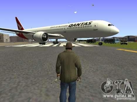 Boeing 787 Dreamliner Qantas für GTA San Andreas