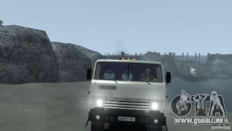 KAMAZ 4310 pour GTA 4 Vue arrière