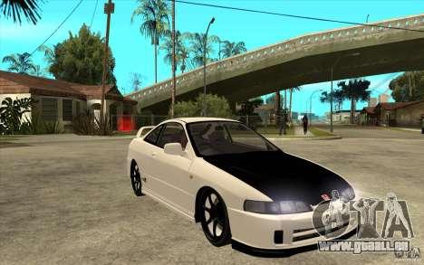 Honda Integra Spoon Version pour GTA San Andreas vue arrière