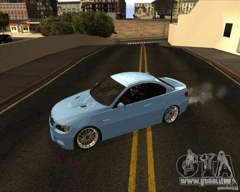BMW M3 Convertible 2008 pour GTA San Andreas