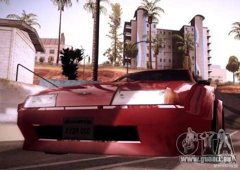 Elegy Wide Body für GTA San Andreas Rückansicht