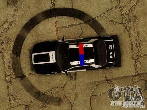 Nissan Skyline R32 Police pour GTA San Andreas vue de côté