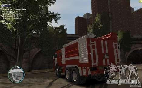 KAMAZ Feuerwehrmann für GTA 4 rechte Ansicht