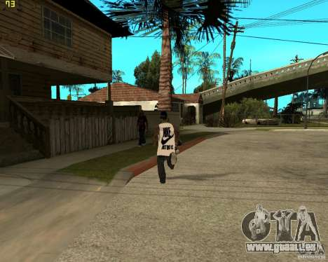 Grove à najke pour GTA San Andreas troisième écran