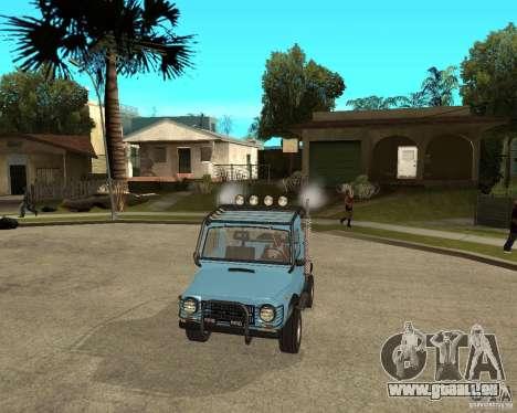 LuAZ 969 m away-Tuning pour GTA San Andreas vue arrière