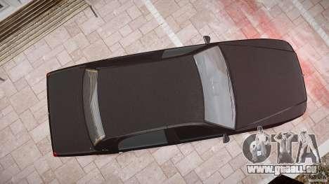 Washington FBI Car pour GTA 4 vue de dessus