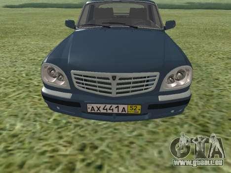 GAZ Wolga 31105 für GTA San Andreas linke Ansicht