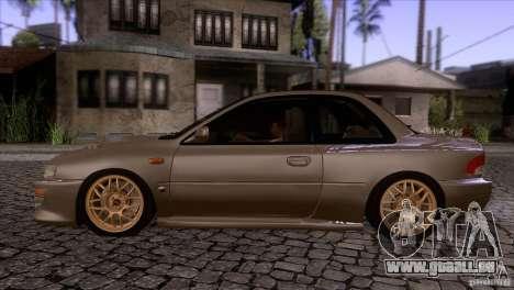 Subaru Impreza 22 für GTA San Andreas linke Ansicht