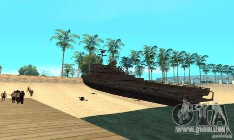 Boot für GTA San Andreas zurück linke Ansicht