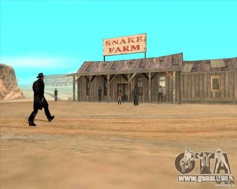 Cowboy Duell für GTA San Andreas dritten Screenshot
