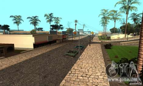 Grove Street für GTA San Andreas zweiten Screenshot