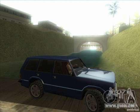 Mes paramètres ENBSeries HD pour GTA San Andreas sixième écran
