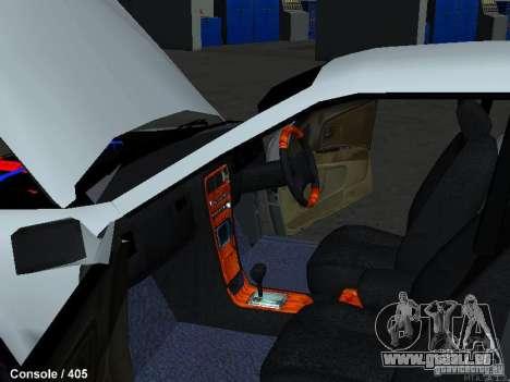 Toyota Mark II 100 1JZ-GTE für GTA San Andreas Innenansicht