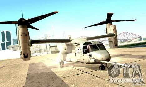MV-22 Osprey für GTA San Andreas linke Ansicht