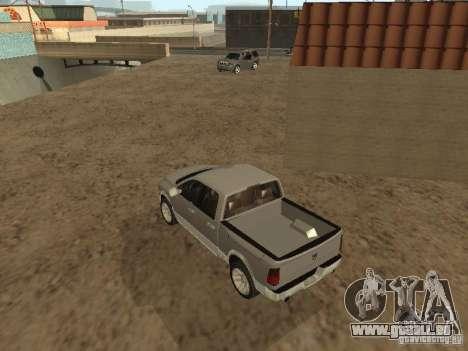 Dodge Ram pour GTA San Andreas vue de droite