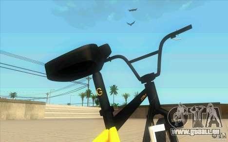 17.5 BMX für GTA San Andreas Rückansicht
