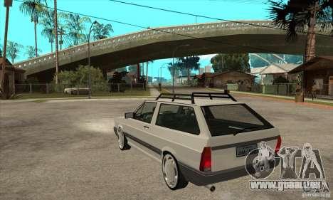 Volkswagen Parati GLS 1994 pour GTA San Andreas sur la vue arrière gauche
