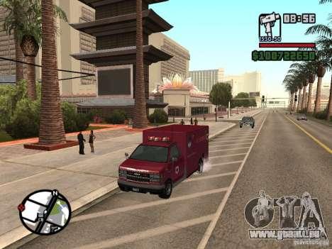 Ambulance de GTA IV pour GTA San Andreas