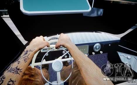 Gaz m 21 léger Tuning pour GTA 4 Vue arrière