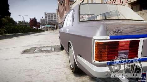 Peykan 1600i pour le moteur de GTA 4