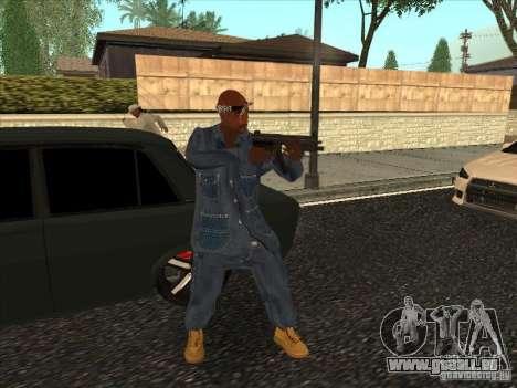 2Pac v1 pour GTA San Andreas troisième écran