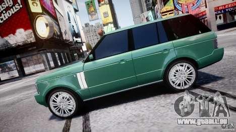 Range Rover Vogue für GTA 4 linke Ansicht
