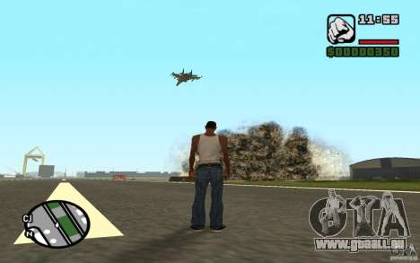 Luftunterstützung, wenn Sie angreift. für GTA San Andreas dritten Screenshot