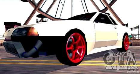 Elegy Drift Masters v0.2 pour GTA San Andreas vue de droite