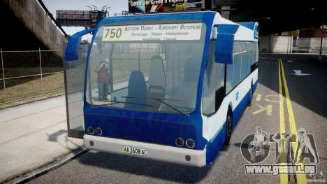 DAF Berkhof City Bus Amsterdam pour GTA 4