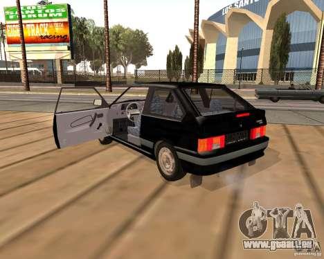 VAZ 2113 pour GTA San Andreas vue intérieure