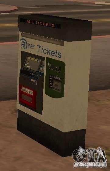 Machines de GTA 4 pour GTA San Andreas quatrième écran