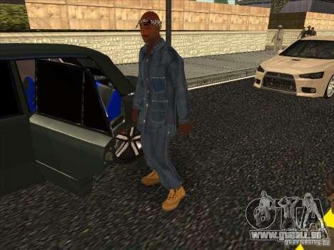 2Pac v1 pour GTA San Andreas deuxième écran