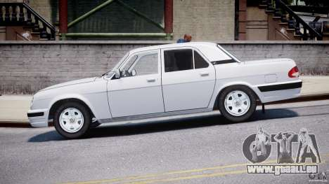 GAZ 31105 für GTA 4 linke Ansicht