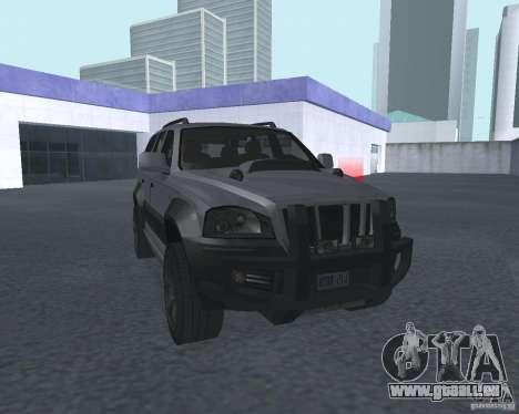 VUS depuis NFS pour GTA San Andreas vue arrière
