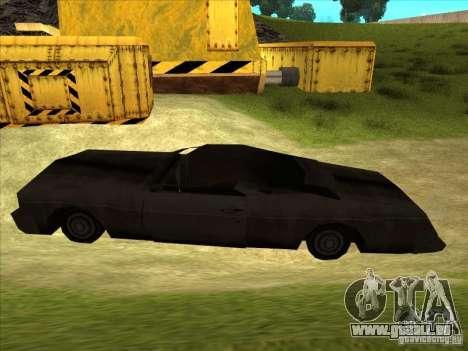 Real Ghostcar pour GTA San Andreas laissé vue