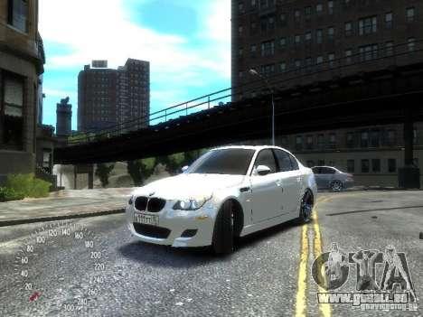 BMW M5 E60 für GTA 4 linke Ansicht