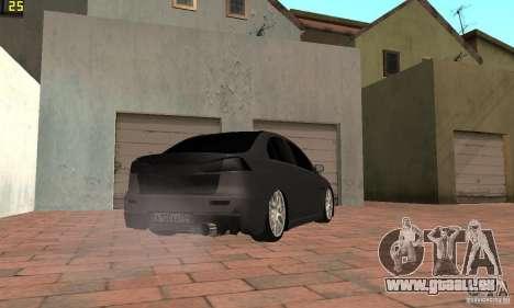 Mitsubishi Lancer Evolution Dag Style pour GTA San Andreas laissé vue