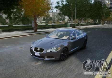 Jaguar XFR 2010 V.2.0 für GTA 4 obere Ansicht