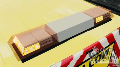 Ford Transit NY Airport Service [ELS] für GTA 4 Unteransicht