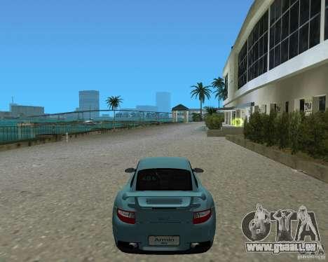 Porsche 911 GT2 pour GTA Vice City sur la vue arrière gauche