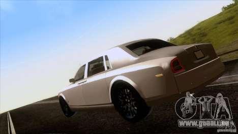 Rolls Royce Phantom Hamann pour GTA San Andreas vue de côté