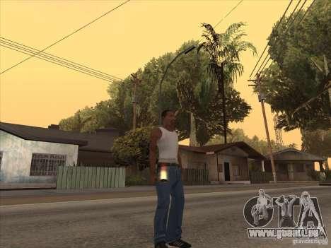 Nouveau Pack d'armes domestiques pour GTA San Andreas deuxième écran